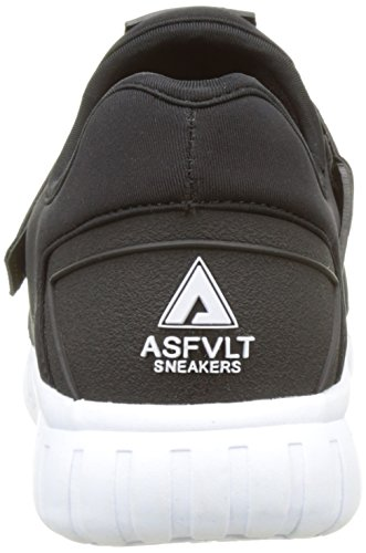 Baskets Black Asfvlt Area Adulte Basses White V Mixte Noir black Evqr4vAwx