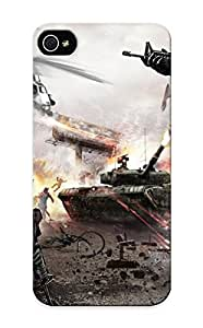 Elizabethshelly Cute Tpu Mdkhny-1647-hdejlyo Homefront Game War Action Bale Military Tank Weapon Gun Case Cover Design For Iphone 5/5s