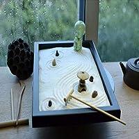 Hjyi Meditación Zen Garden,Jardin Zen Estilo Chino Sala de Estar ...