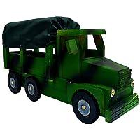 Camión Militar de Madera Grande