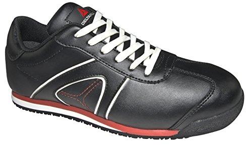 Delta Plus-d Spirit S3 Chaussures Basses Cuir Pleine Fleur Noir- S3 Src- Dspirs3no37