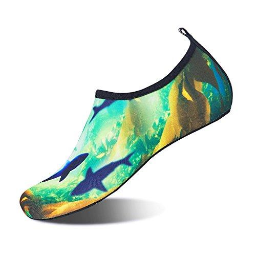 Apne Pour Pied Exercice Bain Yoga En Shoes Mens Nus Plonge Pieds Course Water Femmes Air Surf Bottes Requin Plonge De Chaussures Iceunicorn Plage Plein WP4B1Uqan