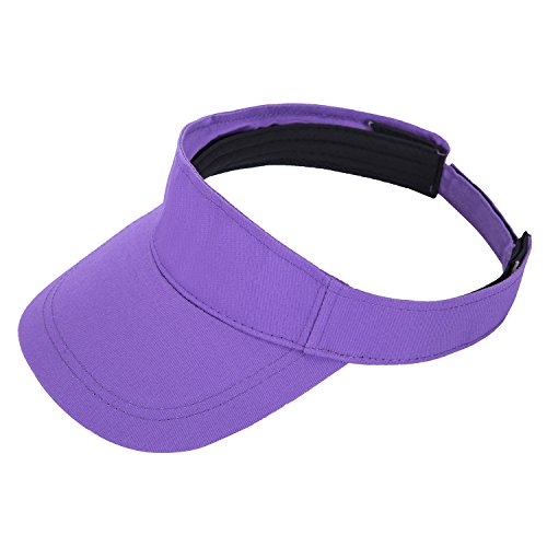 PENGTU Premium Visor Cap - Lightweight & Comfortable Unisex Sun Protector - Adjustable Velcro Strap - Stylish & Elegant Design For Everyone - Available In Many Different Trendy Colors - Womens Running Visor