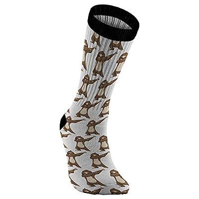 Sloth Socks For Men Women Boys Girls, Dabbing Gifts For Sloth Lovers - Weezag