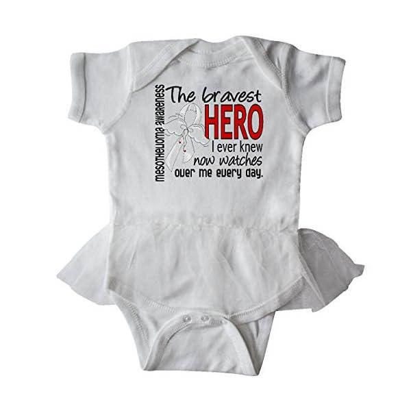 inktastic-Mesothelioma-Bravest-Hero-I-Ever-Knew-1-Infant-Tutu-Bodysuit-30736