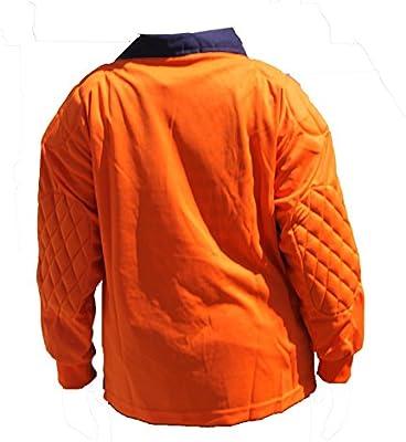 Lisaro Portero Camiseta Manga Larga Naranja/Negro, Naranja/Negro ...