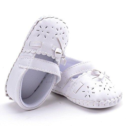 ESTAMICO , Chaussures premiers pas pour bébé (fille) Blanc blanc 12-18 mois