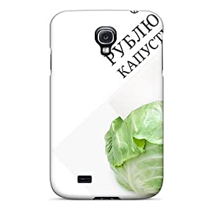 Durable Protector Cases Covers With 3d Cut Cabbage Hot Design For Galaxy S4 Black Friday