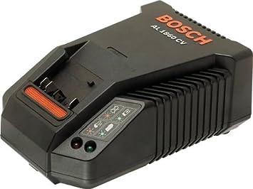 Bosch AL 1860 CV - Cargador rápido de múltiples voltios para ...