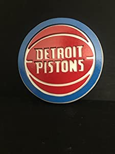 Detroit Pistons Wood Wall Plaque