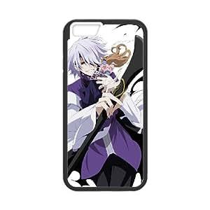 iPhone 6 más la caja de 5,5 pulgadas de tapas negras Pandora Hearts Personajes costumbre customized caja del teléfono W2U2IC