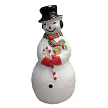 Amazon United Solutions 75300 Large Snowman Illuminated With Cord And Light Included 40 Garden Outdoor