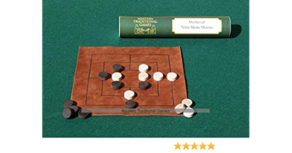 Masters Traditional Games Juego de Nine Mens Morris - Replica ...