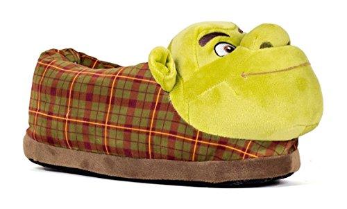 Happy Feet 2101-2 - DreamWorks Shrek Slippers - Medium Mens and Womens Slippers