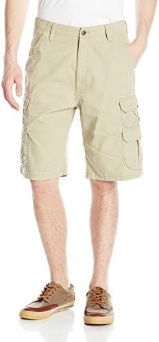Wrangler Auténtico pantalón corto tipo cargo de hombre Big & Tall - Short de twill de calidad
