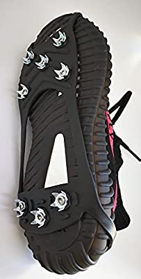Footbeau Outdoor Adventure Walk Hiking Shoes Traction Cleats, Anti-Slip Gear on Wet Mud, Ice and Snow