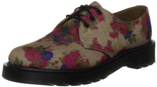 15016260 cordones lona 1461 Martens Zapatos Vintage Beige Bouquet mujer Taupe para Beige Dr de de w0I5qzz1