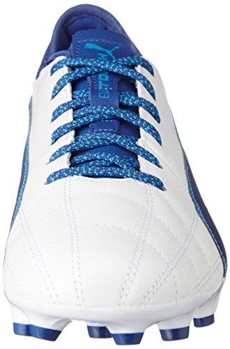 Puma Blue White Botas Blanco blue Para Danube puma 3 01 Lth De Ag true Fútbol Hombre Evotouch rArqfwBO