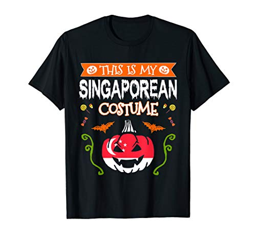 Halloween Costumes Singapore (This Is My Singaporean Costume Halloween Singapore Flag)