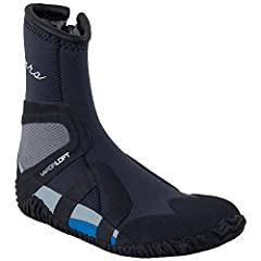 Versatile and comfortable, the NRS Men's Paddle Wetshoe provides you with warmth plus protection as you explore the waters. The high-top, low-profile design provides maximum warmth while the soft VaporLoft lining repels water. 3-mm thick high...