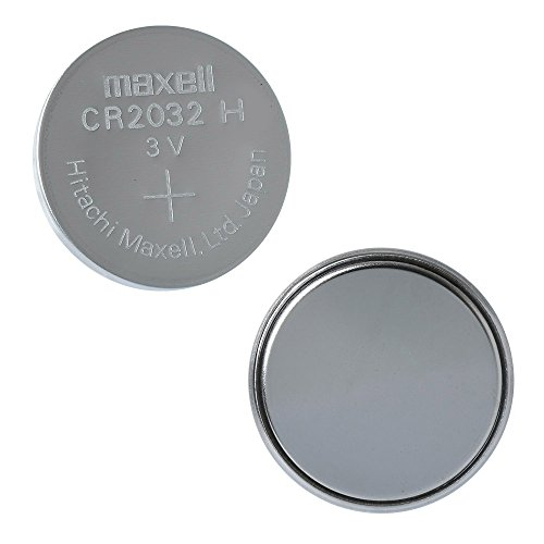 maxell CR2032 3V Lithium Battery 1PACK (5PC) Single Use Batteries
