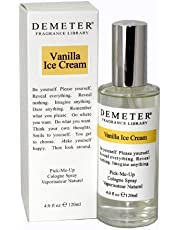Demeter Vanilla Ice Cream Pick-me Up Cologne Spray for Women, 120ml