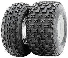 Carlisle Holeshot Tire - Rear - 20x11x10 , Position: Rear, Tire Size: 20x11x10, Rim Size: 10, Tire Ply: 4, Tire Type: ATV/UTV, Tire Application: Sport, Tire Construction: Bias 532035