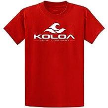 Koloa Surf Co. camiseta de algodón con logo de ola en tallas única, grande y extragrande
