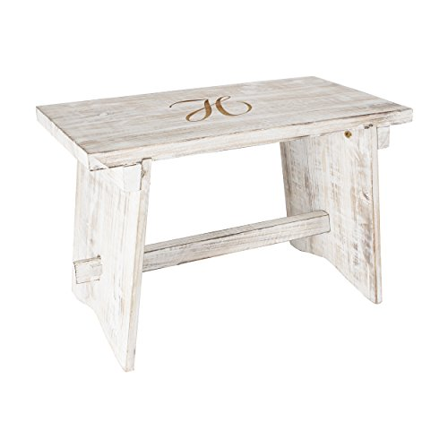 Personalized Wooden Guestbook Bench -