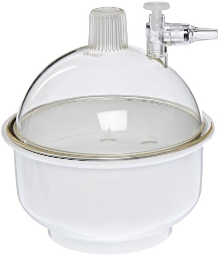 Kartell 243025 Small Plastic Vacuum Desiccator, 141mm Size by Kartell (Image #1)