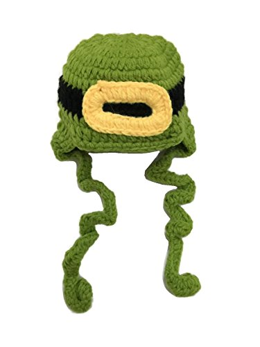 [Glamerup St Patrick's Day Leprechaun Crochet Beanie Doll Hat (Perfect for Photo Prop)] (Leprechaun Photo Prop)