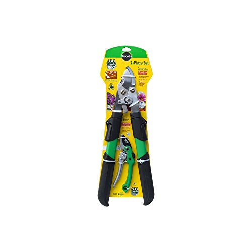 miracle-gro-titanium-telescoping-lev-r-lopper-and-non-stick-gear-drive-pruner