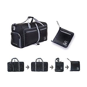Duffel Bag, Vitalismo Foldable Travel Bag Sports Storage Bag Luggage Organizer