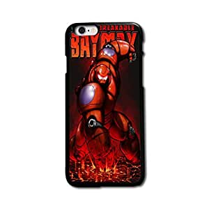 Tomhousomick Custom Design Cute Big Hero Baymax Case Cover for iPhone 6 4.7 inch Say: Hello ,I'm Baymax.What's your pain level.