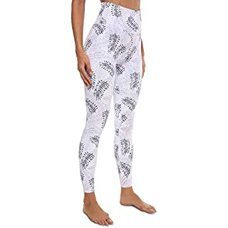 VOEONS Yoga Pants for Women Printed Camo Workout Exercise Leggings with Pockets High Waisted Tummy Control Athletic Running Spandex Compression Leggings