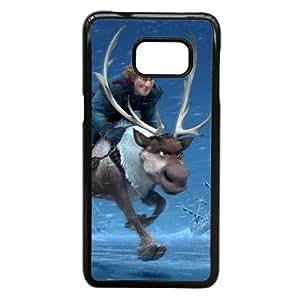 Samsung Galaxy Note 5 Edge Phone Case Black Frozen Kristoff KJI8494699