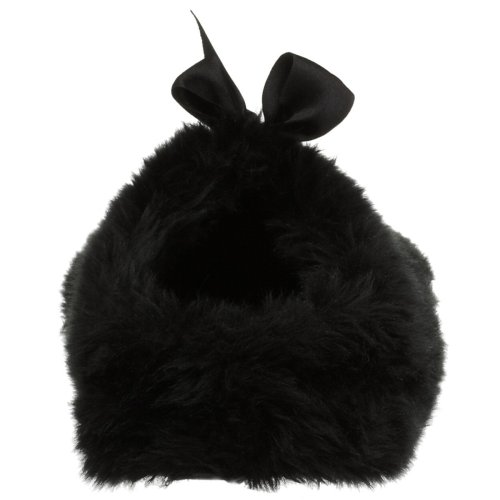 Golddigga Fluffy Slipper Black PKYsKD