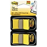 Post-it® Standard Marking Flags FLAG,1IN,2PK OF 50,YW R330-LI-12 (Pack of20)