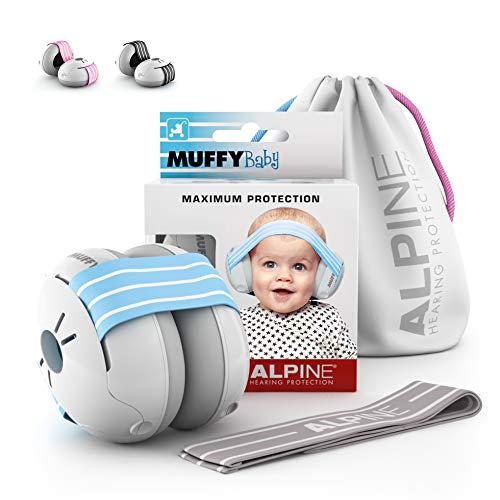 Alpine Muffy Baby Protección auditiva para 0 a 36 meses azul
