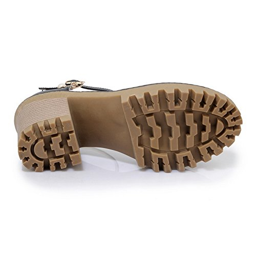 AN Womens Sandals Closed-Toe Light-Weight Urethane Sandals DIU00665 Beige 7JjgD