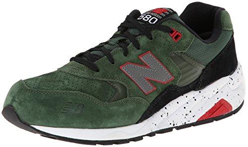 New Balance Mens Mrt580 Classic Sneaker Verde / Nero