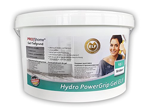 Delux Gel - Deep penetrating primer PROFHOME Hydro PowerGrip Gel with a novel gel structure for interior and exterior use 10 l for max 66 sqm