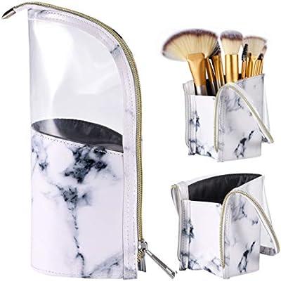 Amazon.com: Bolsa de viaje para cepillos de maquillaje ...