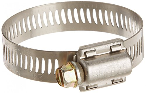 ainless Steel Hose Clamp, Worm-Drive, SAE Size 28, 1-5/16