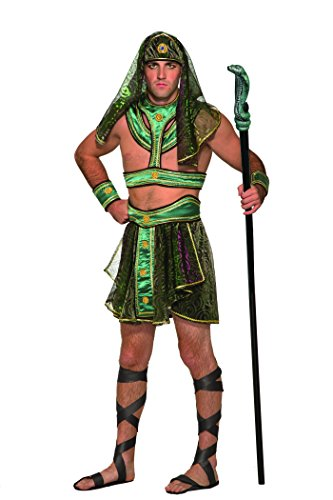 Forum Novelties Men's Egyptian Pharaoh Deluxe Costume, As As Shown, Standard -