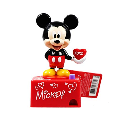 (Mickey Mouse Talking Valentines Day Candy Dispenser, Set of 2)