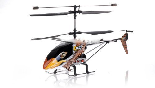 9051 3 Channel Brown Eagle Metal Frame Helicopter w  Built in Gyro & Flashing... by Raid