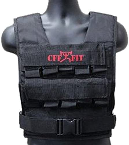 CFF Adjustable Weighted Vest 30 Kg/66 Lbs with Free Additional Vest Shell - Great for Cross Training & Fireman Training [並行輸入品]