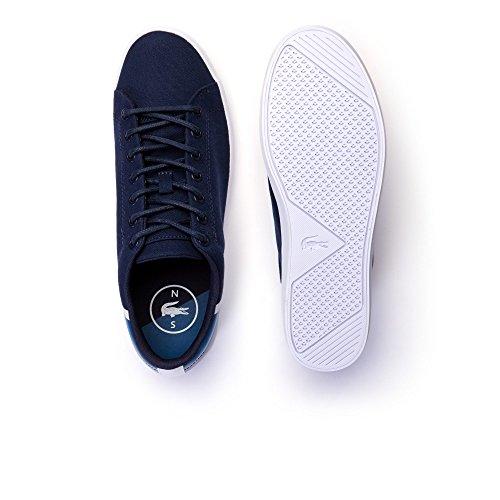 Lacoste Sneakers Straightset Sport 118 2 Cam Blu-Blu Petrolio 0100ND1-45, Blu