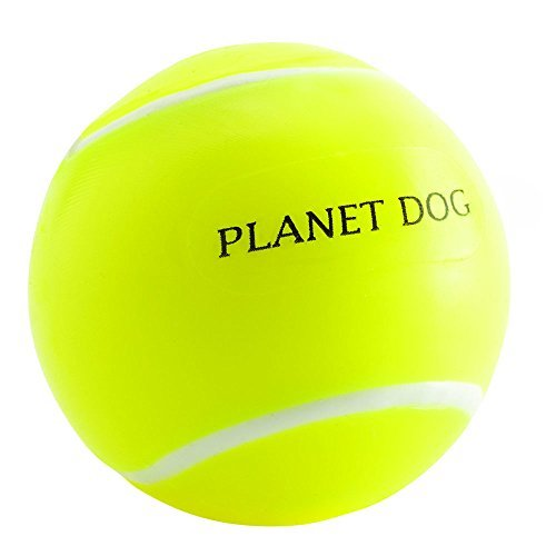 Planet Dog Orbee-Tuff Sports Dog Toys, Tennis Ball by Planet Dog (Planet Tennis Dog Balls)